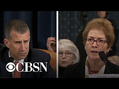 Day 2, Part 5: Devin Nunes and Steve Castor question Marie Yovanovitch