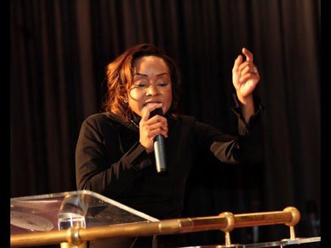 Evangelist Ruby Holland Ministers at VWG Conference , Lafayette, LA