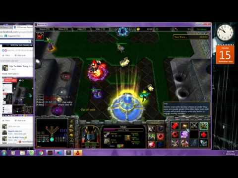 [ Warcraft III ] Darkness reborn VN : Win mode hard 2.7 exented