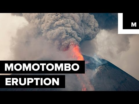 Nicaragua's Momotombo Volcano Erupts For the First Time in a Century