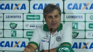 Coletiva do técnico Gilson Kleina após a vitória de 4x0 diante do Cuiabá na Copa do Brasil