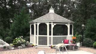 Amish Made Gazebo By Backyard Unlimited