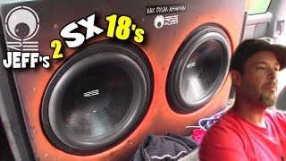 18 inch Subwoofers MAKING NOISE w/ Jeffs Loud 3,600 Watt TRUCK Sound System FLEX