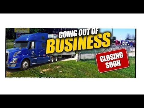 Trucking Companies going under is it the market?