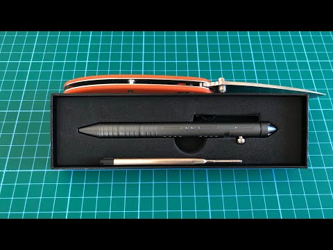 SMOOTHERPRO Tactical Bolt Action Pen Gray Quick Look