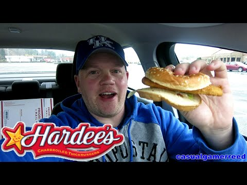 Reed Reviews Hardee's Redhook Beer Battered Cod Fish Sandwich