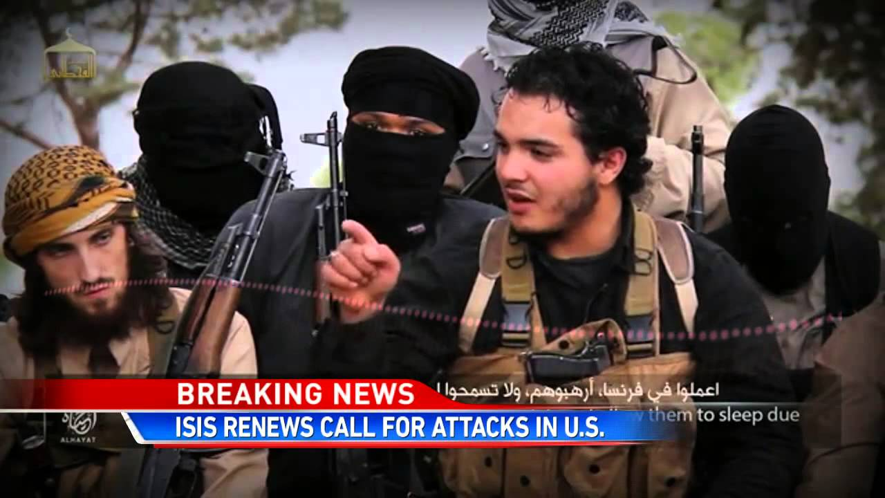 New Isis Video Calls for Attacks in the U.S. - YouTube