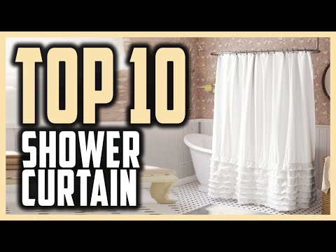 Best Shower Curtain in 2021 - Top 10 Shower Curtain to Decore and Upgrade Your Bathroom