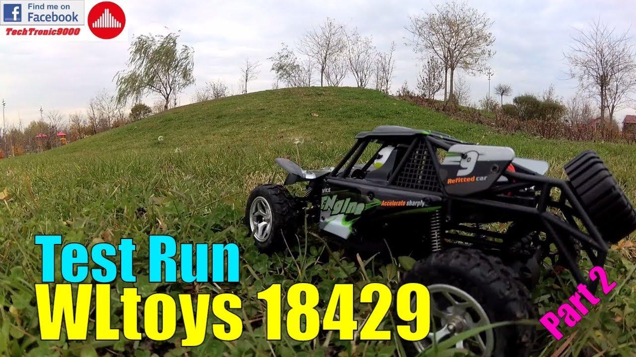 WLtoys 18429 - 1:18 4WD Desert Buggy - Test Run - Review Part 2