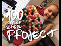100 DAYS OF SCHOOL PROJECT!  ll VLOG 60