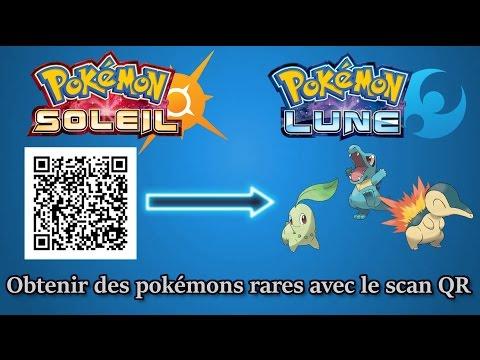 【Pokémon Soleil & Lune】Comment obtenir des Pokémons Rares avec le scan QR