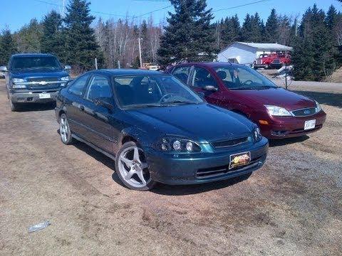 1998 Honda Civic DX Coupe D16Y7 1.6L EJ6