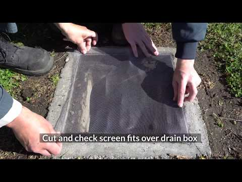 DIY Mosquito Exclusion - Yard Drains