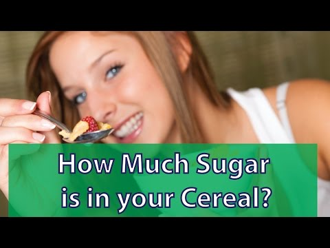 How Much Sugar is in your Cereal?
