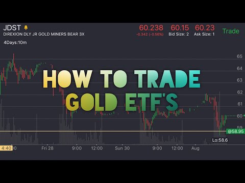 How To Trade Gold ETF'S | Penny Stock Investor