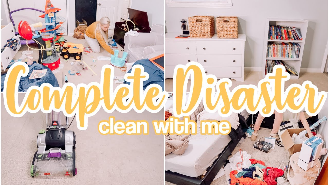 COMPLETE DISASTER CLEAN WITH ME 2021 // SPEED CLEANING MOTIVATION