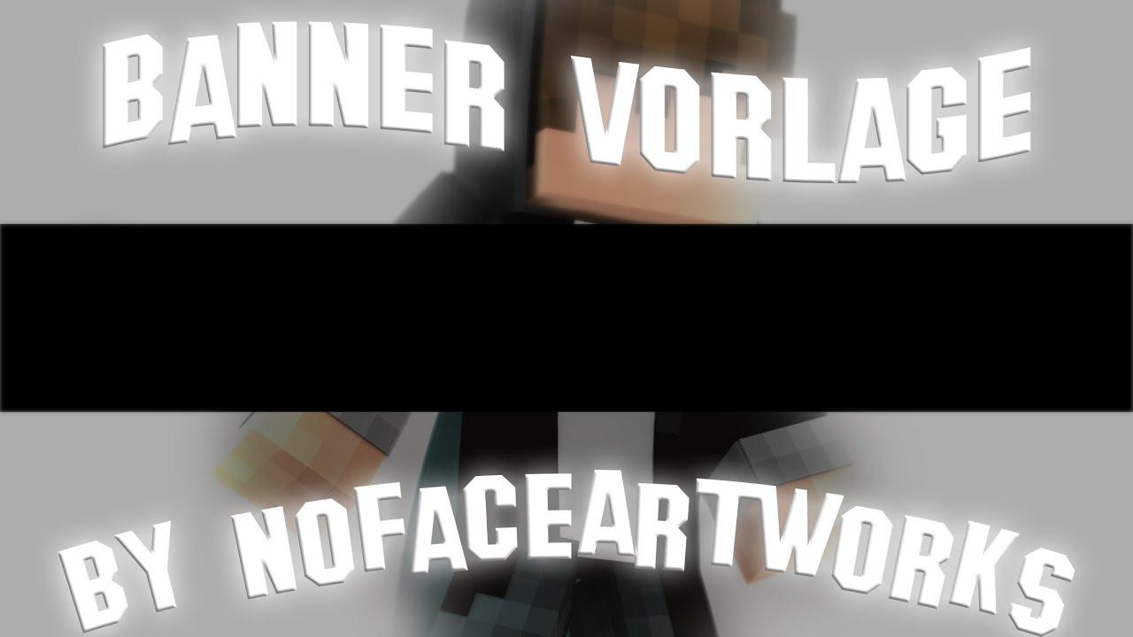 Banner Vorlage V2 By NoFaceArtworks[ +DOWNLOAD ] [Photoshop] [ Gimp ...