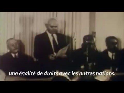 Yom Haatsmaout - Ben Gourion Reads Israeli Declaration Of Independance