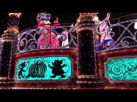Tokyo Disneyland Christmas Night Parades - Complete Part 3 HD