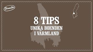Tips från Värmland – 8 unika boenden i Värmland
