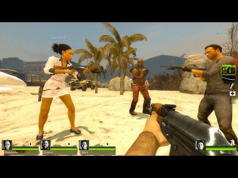 Left 4 Dead 2 - Infected City 2 Custom Campaign Gameplay Walkthrough
