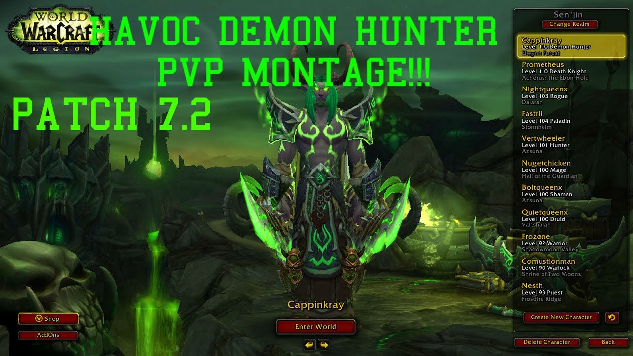 Best Havoc Demon Hunter DPS build for Raiding any Mythic+ Dungeons in  World of Warcraft: Battle for Azeroth and Patch 8.2. WoW Pocket Havoc DH Guide  by ...