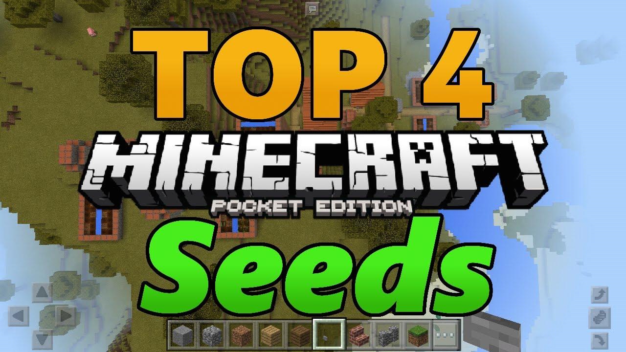 New  U2502top 4 Minecraft Pe Seeds U2502v1 1 0 X