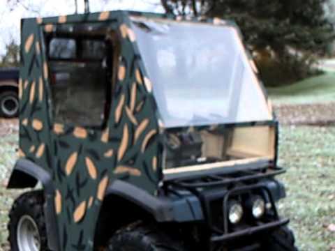 Homemade ATV Cab Enclosure