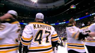 Bruins win Stanley Cup 6/15/2011 (NBC feed, 1080p) PART 1/2