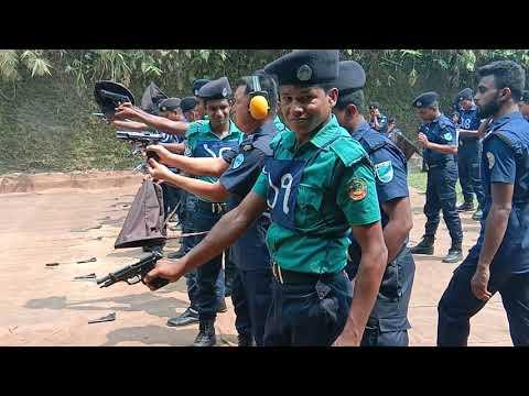 বাংলাদেশ পুলিশের কান্ডটা এক বার দেখেন। Bangladesh police fairing 9MM pistol.