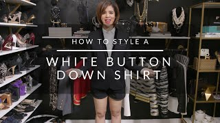 How To Style A White Button Down