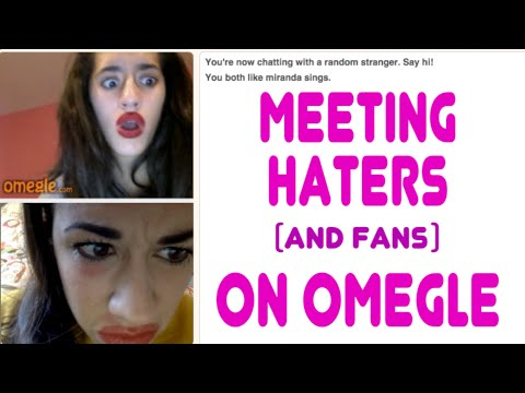 MEETING HATERS ON OMEGLE!