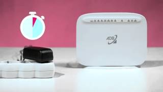 Router ADB vv3212 - Po zapojení routra internet stále nefunguje