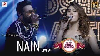 Baixar Nain - Live @ Amazon Great Indian Festival | Badshah & Aastha | O.N.E