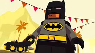 Мультик Лего. Супергерой Бэтмен. Развивающий мультфильм на русском языке
