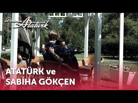 Atatürk ve Sabiha Gökçen | Dersimiz Atatürk