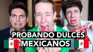 PROBANDO DULCES MEXICANOS | Celopan