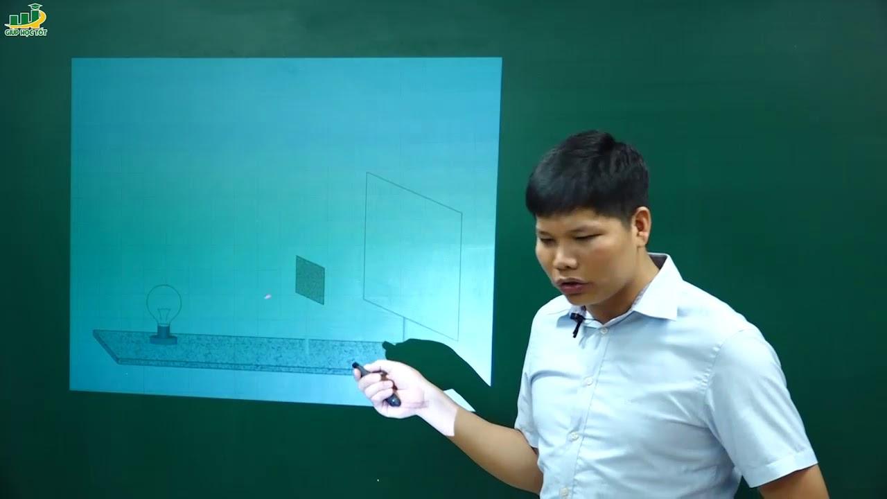 Vật Lí Lớp 7 – Bài 3 Ứng dụng định luật truyền thẳng của ánh sáng | Thầy Trần Văn Huỳnh