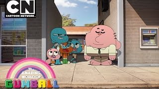 Gumball | The Bank of Elmore | Cartoon Network