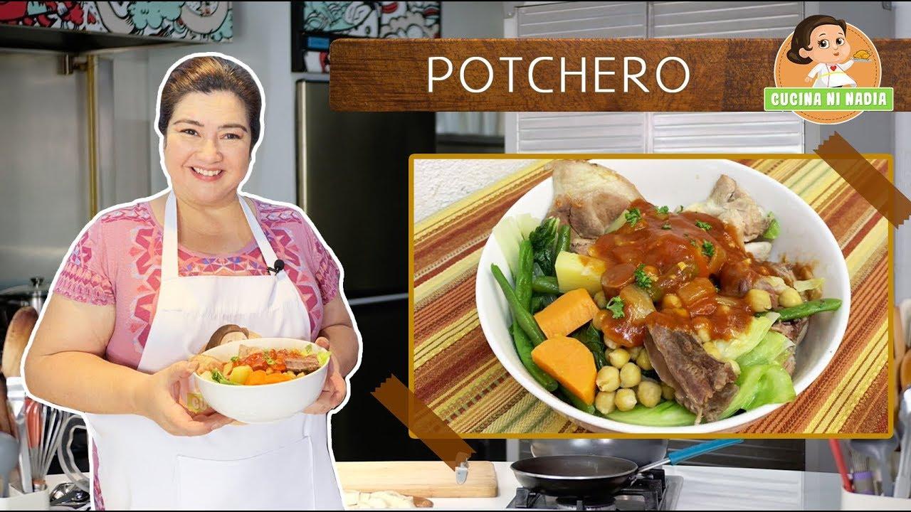 Cucina Ni Nadia 5 Potchero Episode 2 Youtube