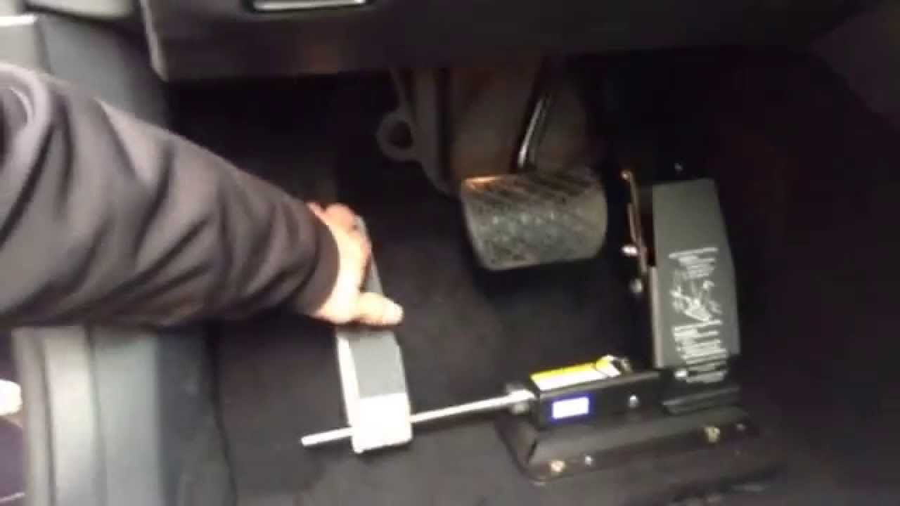Mercedes benz with a left foot gas pedal youtube