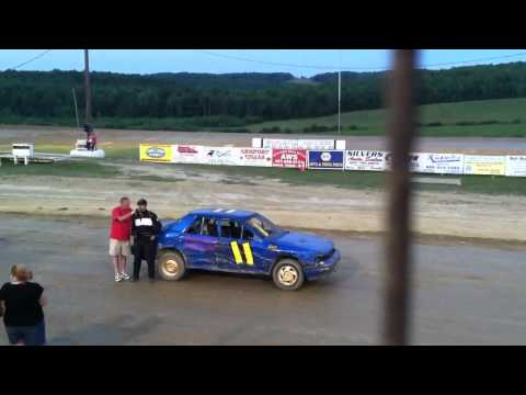 Adam DelGrosso Woodhull Raceway 7/9/11 NAPA Driver of the Week