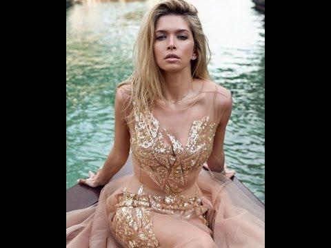 Вера Брежнева очаровала Дубай «невидимым» платьем