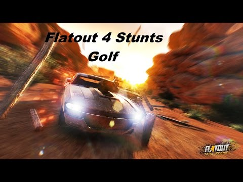 FlatOut 4: Total Insanity - Stunt Mode Minigames (Gold Scores)