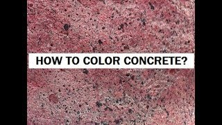 Gambar cover How do you color concrete?