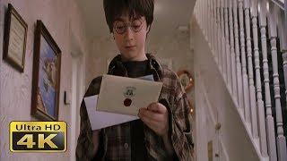 """Гарри приходит письмо. Момент из фильма """"Гарри Поттер и философский камень"""""""
