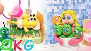 Baby Care Stop Motion / OKG Kids Cartoons & Baby Videos