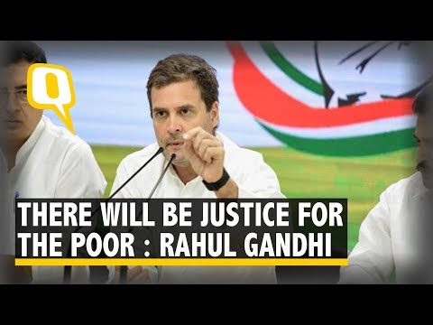 Rs 72,000 a Year for Poorest 20% Families: Rahul鈥檚 Poll Promise | The Quint