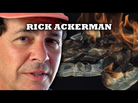 Coming World Monetary Crisis of Historic Proportions; Debt Implostion - Rick Ackerman Interview