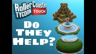 do decorations help   rollercoaster tycoon touch   rct touch